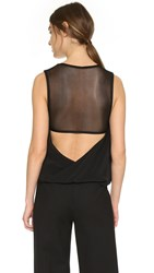 Kaufman Franco Sleeveless Top Black