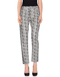 So Nice Trousers Casual Trousers Women Grey