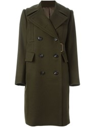 Sacai Military Coat Green