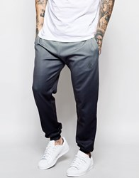 Jaded London Joggers With Ombre Print Grey