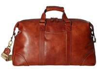Bosca Dolce Collection Duffel Amber Duffel Bags Bronze