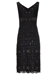 Marc Jacobs Broderie Anglaise Embellished Dress