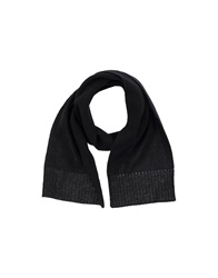 Bogner Oblong Scarves Black