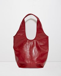 Y's Leather Bag Red