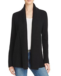Bloomingdale's C By Shawl Collar Cashmere Cardigan Black