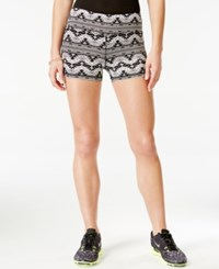 Material Girl Active Juniors' Printed Pull On Shorts Only At Macy's Tribal Border