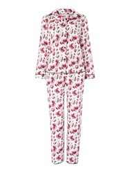 Cyberjammies Stephanie Floral Pyjama Set Pink