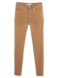 Mango Super Slim Fit Jeans Medium Brown