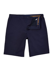 Lyle And Scott Lyle And Scott Cotton Stretch Chino Shorts Navy