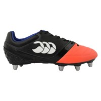 Canterbury Of New Zealand Phoenix Club 8 Stud Rugby Boots Orange Black