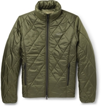 Musto Shooting Patterned Quilted Jacket Green