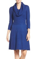 Eliza J Women's Fit And Flare Sweater Dress