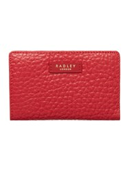 Radley Abbey Red Medium Ziparound Purse Red