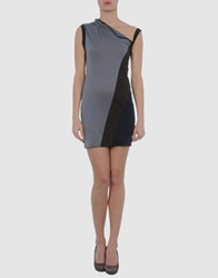 Eudon Choi Short Dresses Light Grey