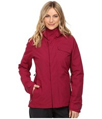 Volcom Snow Bow Insulated Gore Tex Jacket Mulberry Women's Coat Purple