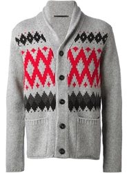 Dondup Knit Cardigan Grey