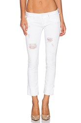 Hudson Jeans Ginny Crop With Distressing Gateway