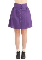 Curry Your Enthusiasm Skirt In Grape Mod Retro Vintage Skirts Modcloth.Com