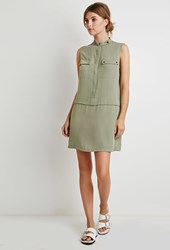 Forever 21 Two Pocket Utility Tunic