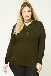 Forever 21 Plus Size Hooded Sweatshirt