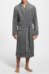 Nordstrom Terry Robe Gray