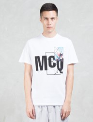 Mcq By Alexander Mcqueen W Floral Print S S T Shirt