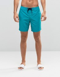 New Look Board Shorts In Green Green