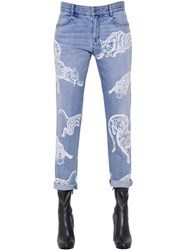 Stella Mccartney Printed Organic Denim Jeans