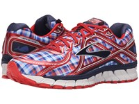 Brooks Adrenaline Gts 16 Poppy Red Peacoat Navy Strong Men's Running Shoes