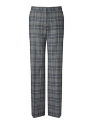 Jigsaw Melange Check Parallel City Tr Grey Marl
