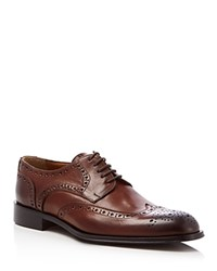 Kenneth Cole Ground Rules Brogue Wingtip Oxfords Brown