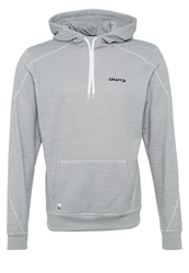 Craft In The Zone Hoodie Grey Melange Mottled Grey