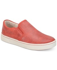 Born Born Richie Slip On Sneakers Women's Shoes Red