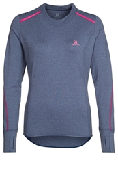 Salomon Park Long Sleeved Top Abyss Blue