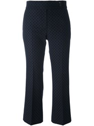 Paul Smith Ps By Polka Dot Cropped Trousers
