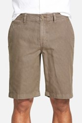 1901 'Bainbridge' Print Chino Shorts Gray
