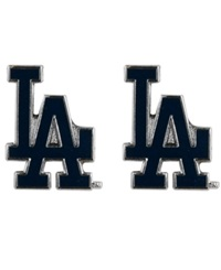 Aminco Los Angeles Dodgers Logo Post Earrings Team Color