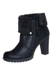 Tom Tailor High Heeled Ankle Boots Black