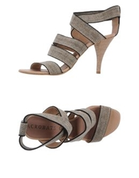 Acrobats Of God High Heeled Sandals Beige