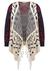 Glamorous Cardigan Cream Multi Multicoloured