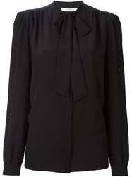 Givenchy Pussybow Blouse Black
