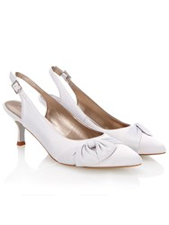 Jacques Vert Side Bow Shoe Grey