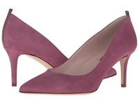 Sarah Jessica Parker Fawn 70Mm Solo Purple Suede Women's Slip On Dress Shoes