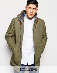 Minimum Parka With Hood Exclusive Army