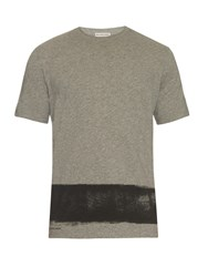Balenciaga Paintbrush Print T Shirt
