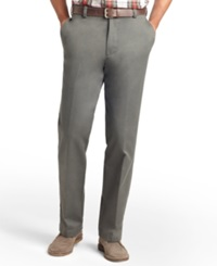 Izod American Classic Fit Wrinkle Free Chino Pants Olive