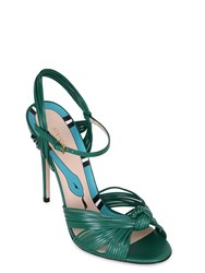 Gucci 110Mm Knotted Leather Sandals