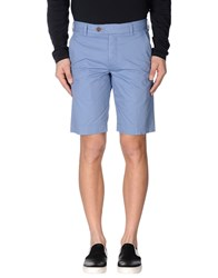 French Connection Trousers Bermuda Shorts Men Pastel Blue
