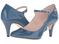 Repetto Barbara Tattoo Winter Blue High Heels