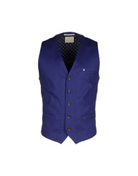 Scotch And Soda Suits And Jackets Waistcoats Men Blue